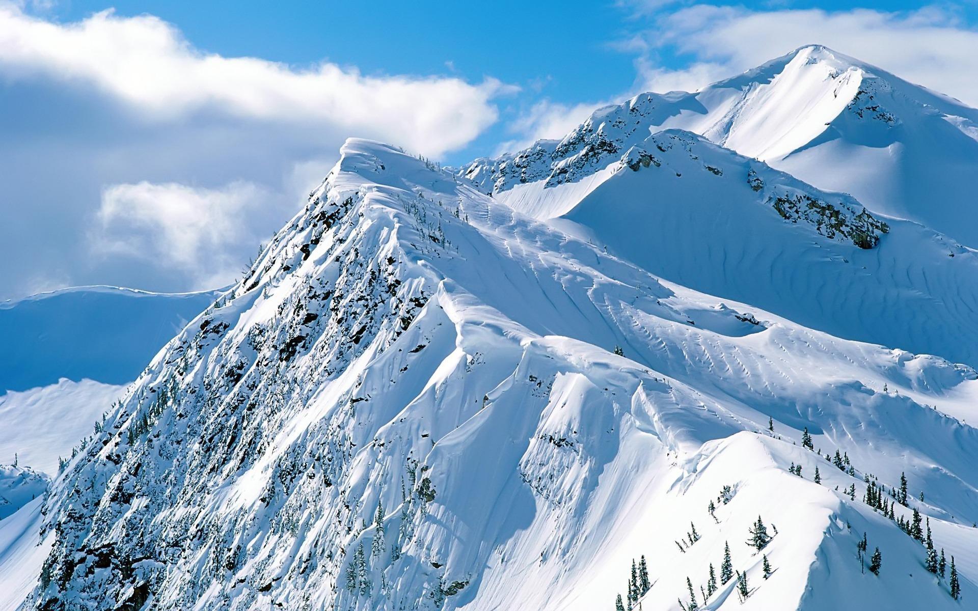 The Mountains Cime_neve